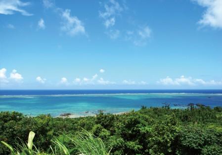 石垣島からみた海